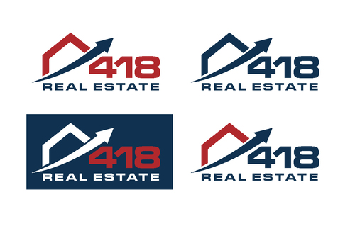418 Real Estate A Logo, Monogram, or Icon  Draft # 60 by bilalali