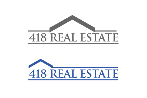 418 Real Estate A Logo, Monogram, or Icon  Draft # 61 by bilalali
