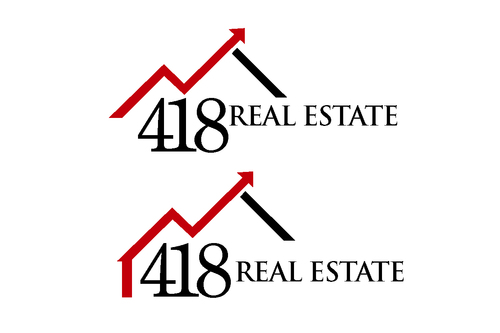 418 Real Estate A Logo, Monogram, or Icon  Draft # 62 by bilalali