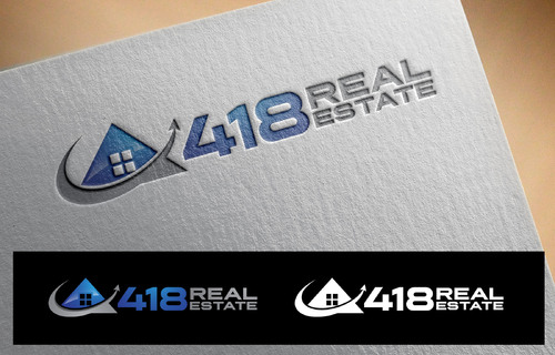 418 Real Estate A Logo, Monogram, or Icon  Draft # 63 by DokEd