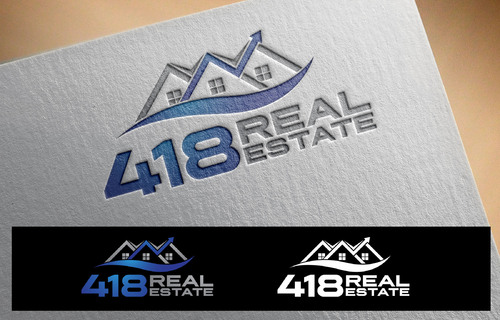 418 Real Estate A Logo, Monogram, or Icon  Draft # 65 by DokEd
