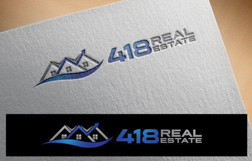 418 Real Estate A Logo, Monogram, or Icon  Draft # 66 by DokEd