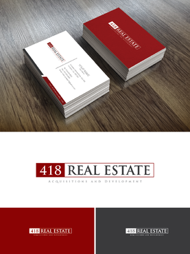418 Real Estate A Logo, Monogram, or Icon  Draft # 117 by Chlong2x