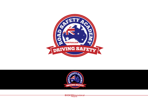 Australian Road Safety Academy A Logo, Monogram, or Icon  Draft # 306 by BitDE3Dimensional