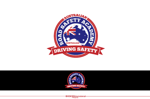 Australian Road Safety Academy A Logo, Monogram, or Icon  Draft # 308 by BitDE3Dimensional