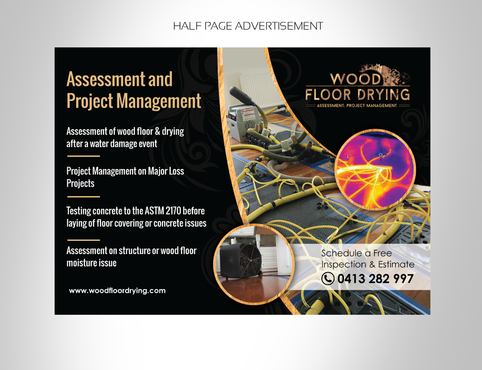 Wood Floor Drying  Marketing collateral  Draft # 12 by pivotal