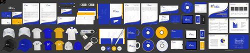 H Mix Business Cards and Stationery Winning Design by einsanimation