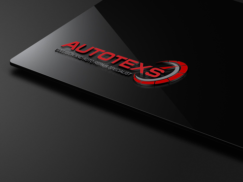Modern Logo For Auto Collision And Maniacal Repair Shop By Autotexs