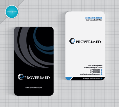 Verification Website Business Cards and Stationery  Draft # 36 by aheadpoint