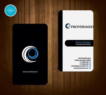 Verification Website Business Cards and Stationery  Draft # 49 by aheadpoint