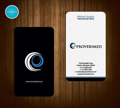 Verification Website Business Cards and Stationery  Draft # 78 by aheadpoint