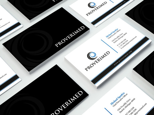 Verification Website Business Cards and Stationery  Draft # 279 by i3designer