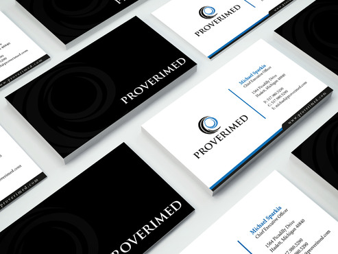 Verification Website Business Cards and Stationery  Draft # 285 by i3designer