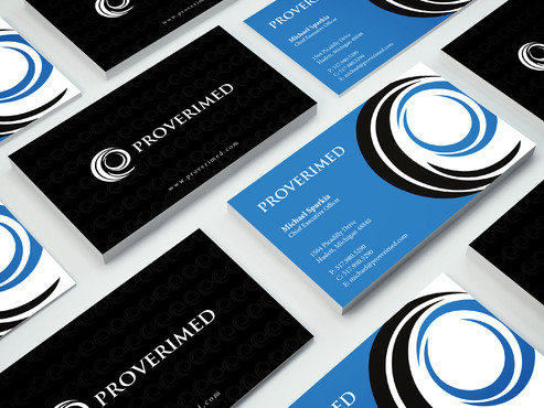 Verification Website Business Cards and Stationery  Draft # 457 by i3designer