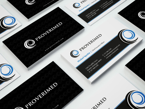 Verification Website Business Cards and Stationery  Draft # 458 by i3designer