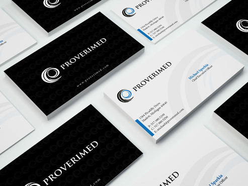 Verification Website Business Cards and Stationery  Draft # 459 by i3designer