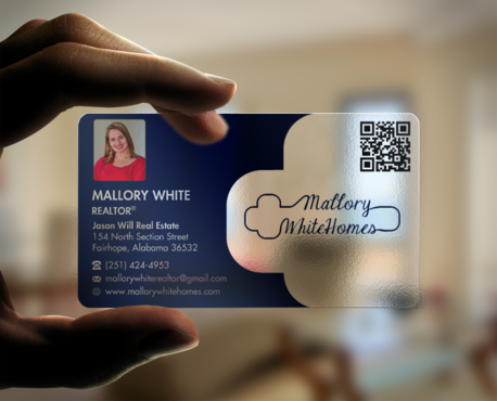 Mallory White or MW Business Cards and Stationery  Draft # 66 by einsanimation