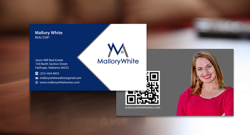 Mallory White or MW Business Cards and Stationery  Draft # 79 by einsanimation