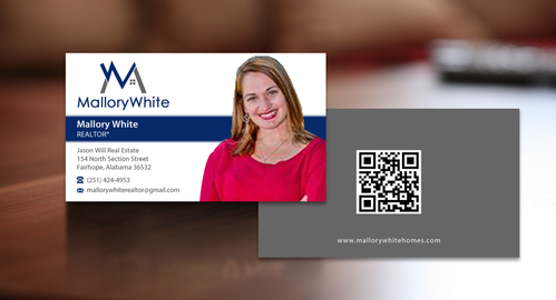 Mallory White or MW Business Cards and Stationery  Draft # 81 by einsanimation