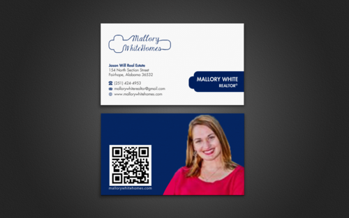 Mallory White or MW Business Cards and Stationery  Draft # 82 by einsanimation