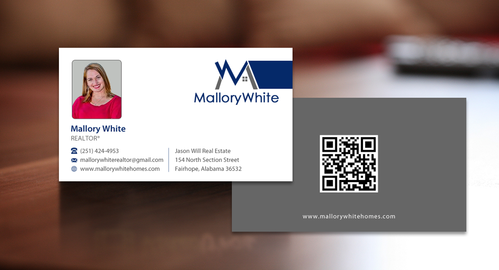 Mallory White or MW Business Cards and Stationery  Draft # 93 by einsanimation