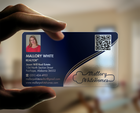 Mallory White or MW Business Cards and Stationery  Draft # 96 by einsanimation