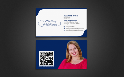 Mallory White or MW Business Cards and Stationery  Draft # 98 by einsanimation