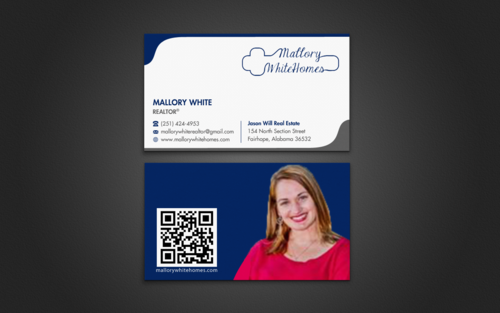 Mallory White or MW Business Cards and Stationery  Draft # 99 by einsanimation
