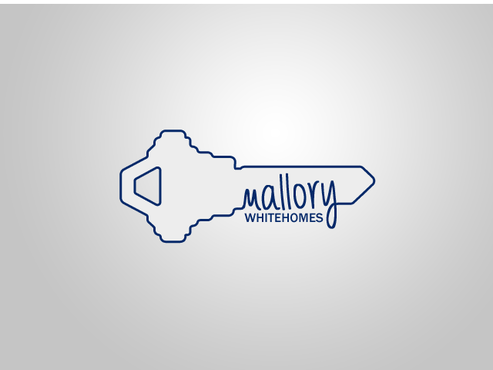 Mallory White or MW Business Cards and Stationery  Draft # 206 by einsanimation