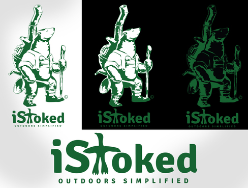 iStoked Logo Winning Design by waffle