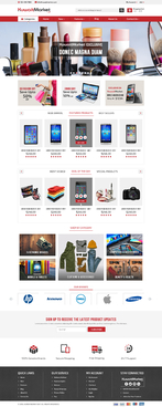 KuwaitMarket.net Complete Web Design Solution Winning Design by FuturisticDesign
