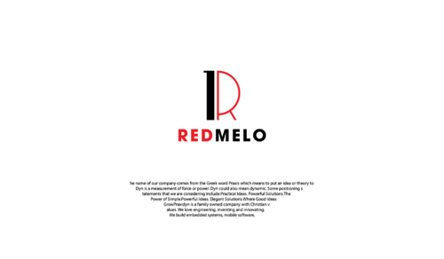 REDMELO A Logo, Monogram, or Icon  Draft # 33 by LongliveUS