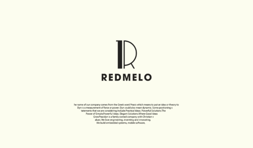 REDMELO A Logo, Monogram, or Icon  Draft # 36 by LongliveUS