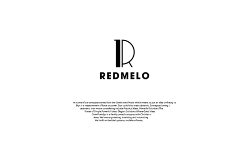 REDMELO A Logo, Monogram, or Icon  Draft # 37 by LongliveUS