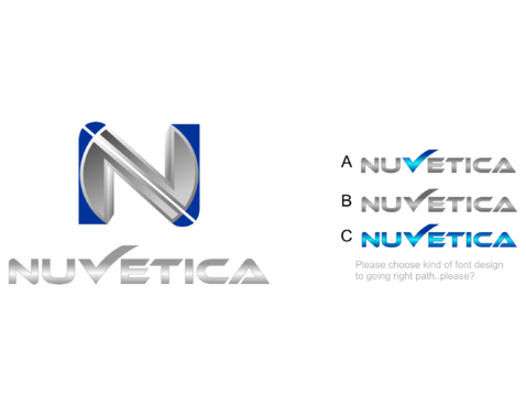 NuVetica     A Logo, Monogram, or Icon  Draft # 116 by jenelyncajes