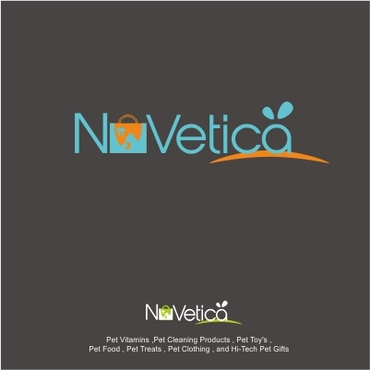 NuVetica     A Logo, Monogram, or Icon  Draft # 198 by Zein08