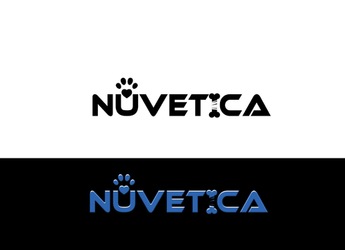 NuVetica     A Logo, Monogram, or Icon  Draft # 206 by zawwar