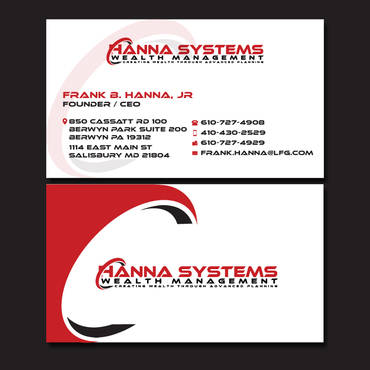 Hanna Systems Business Cards and Stationery  Draft # 125 by CreativeCollage