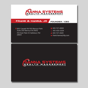 Hanna Systems Business Cards and Stationery  Draft # 126 by CreativeCollage