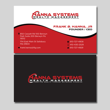 Hanna Systems Business Cards and Stationery  Draft # 127 by CreativeCollage