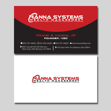 Hanna Systems Business Cards and Stationery  Draft # 128 by CreativeCollage