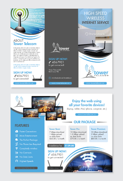 Tower Telecom Marketing collateral Winning Design by Achiver