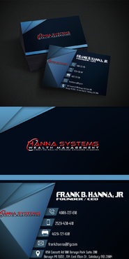 Hanna Systems Business Cards and Stationery  Draft # 284 by takyeddine