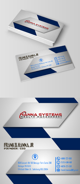 Hanna Systems Business Cards and Stationery  Draft # 285 by takyeddine