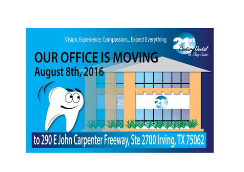 Our office is moving August 8th, 2016 to 290 E John Carpenter Freeway, Ste 2700 Irving, TX 75062 Other  Draft # 5 by sadenona