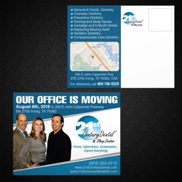 Our office is moving August 8th, 2016 to 290 E John Carpenter Freeway, Ste 2700 Irving, TX 75062 Other Winning Design by monski