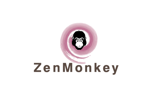 Zen Monkey A Logo, Monogram, or Icon  Draft # 469 by KenArrok