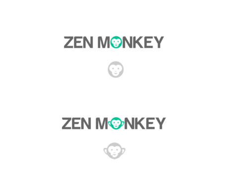 Zen Monkey A Logo, Monogram, or Icon  Draft # 470 by AlphaCeph