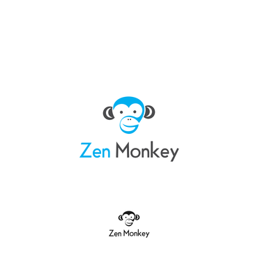 Zen Monkey A Logo, Monogram, or Icon  Draft # 485 by ammarsgd