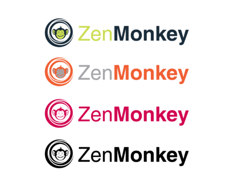 Zen Monkey A Logo, Monogram, or Icon  Draft # 488 by Vincent1986